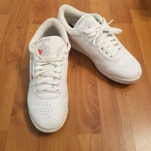 Reebok Classic Princess Sneakers size 7 white